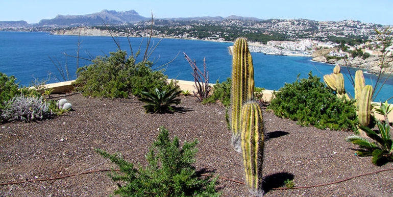 Superb luxury villa in prime location in Moraira El Portet/Cap d'Or - Planted roof with sea views - ID: 5500689