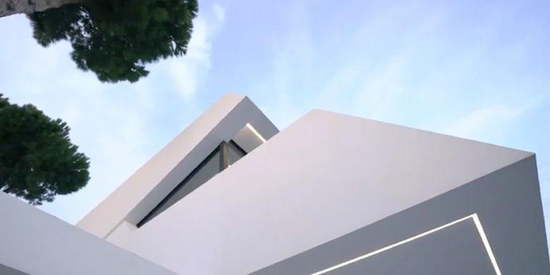 Luxury villa with perfect sea views in Moraira Benimeit - Architectural detail - ID: 5500670 - Architect Ramón Gandia Brull (RGB Arquitectos)