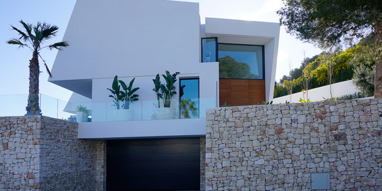 Luxury villa with perfect sea views in Moraira Benimeit - Garage - ID: 5500670 - Architect Ramón Gandia Brull (RGB Arquitectos)
