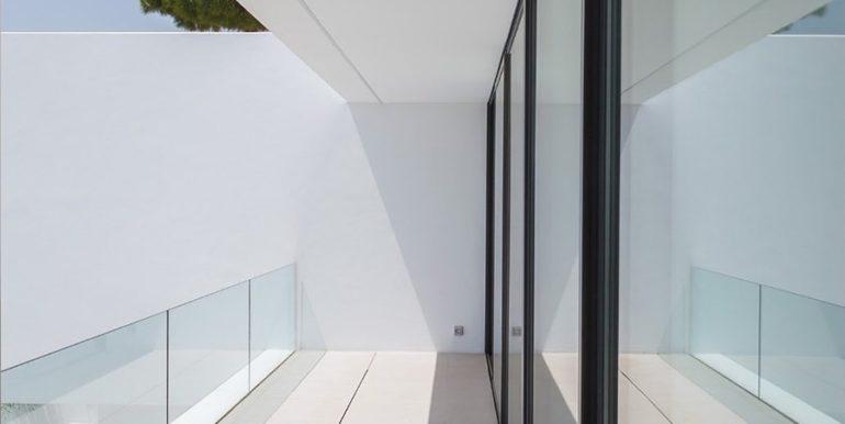Luxury villa with perfect sea views in Moraira Benimeit - Terrace on the top floor - ID: 5500670 - Architect Ramón Gandia Brull (RGB Arquitectos)