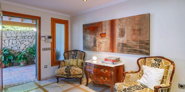 Frontline villa in Benissa Les Bassetes - Entrance area - ID: 5500695