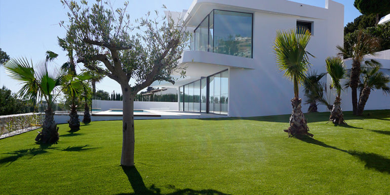 Luxury villa with beautiful sea views in Moraira Benimeit - Garden - ID: 5500671 - Architect Ramón Gandia Brull (RGB Arquitectos) - Photographer Torsten Bulk