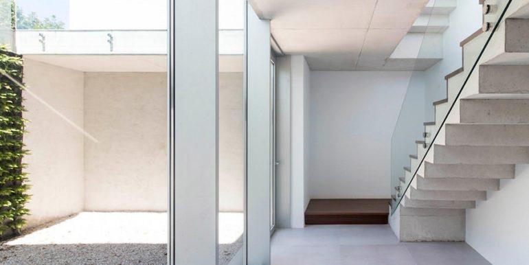 New build design villa with sea views in Moraira El Portet - Basement with patio and stairs - ID: 5500692 - Architect Dalia Alba