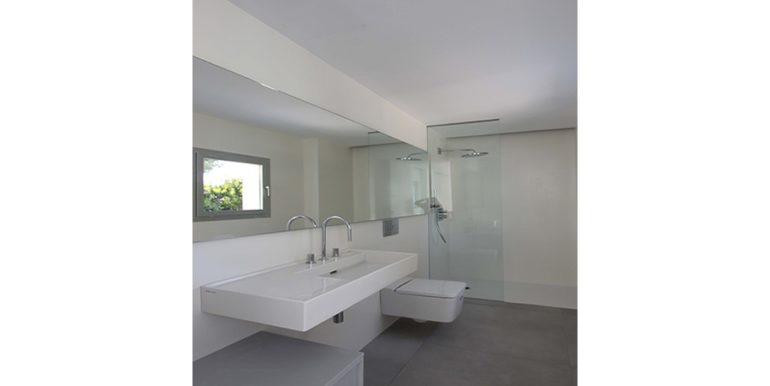 New build design villa with sea views in Moraira El Portet - Bathroom - ID: 5500692 - Architect Dalia Alba
