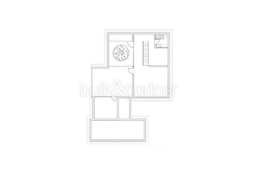 New build design villa with sea views in Moraira El Portet - Floor plan basement - ID: 5500692 - Architect Dalia Alba