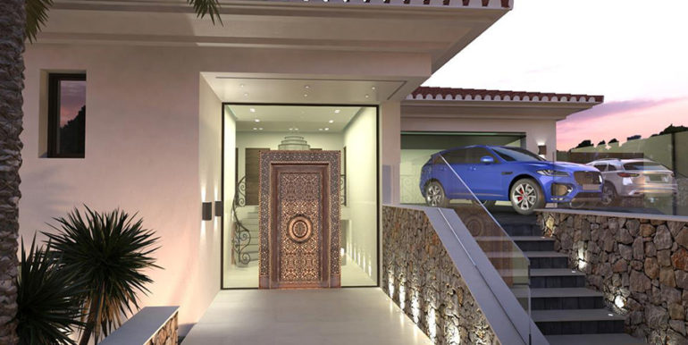 Waterfront luxury villa in Jávea Granadella - Entrance area outdoor - ID: 5500693