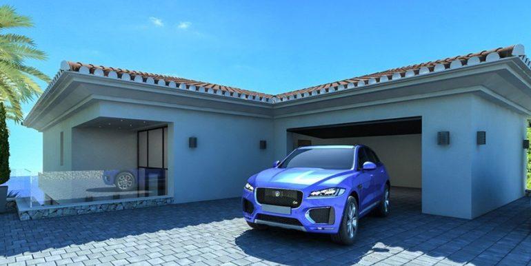 Waterfront luxury villa in Jávea Granadella - Garage - ID: 5500693