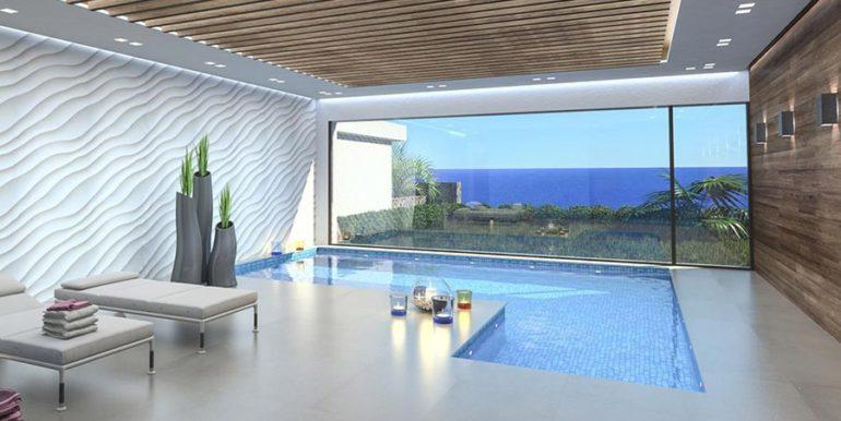 Waterfront luxury villa in Jávea Granadella - Indoor pool with sea views - ID: 5500693