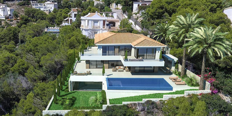 Waterfront luxury villa in Jávea Granadella - Plot and Villa total - ID: 5500693