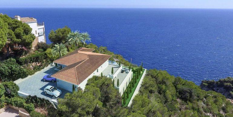 Villa de lujo frente al mar en Jávea Granadella - Vistas al mar - ID: 5500693