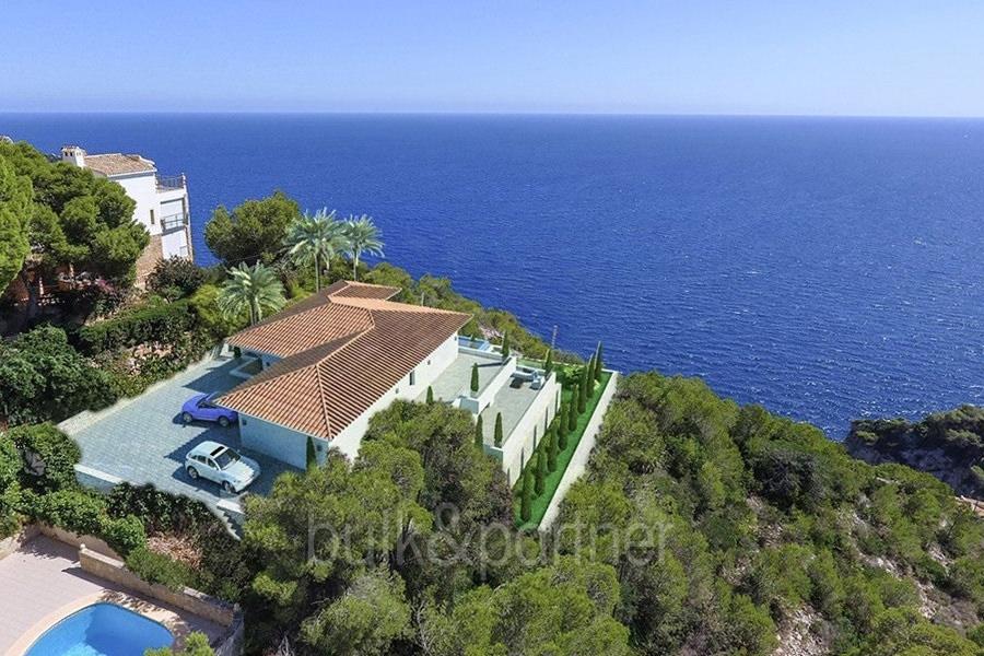 Villa de lujo en frente al mar en Jávea Granadella