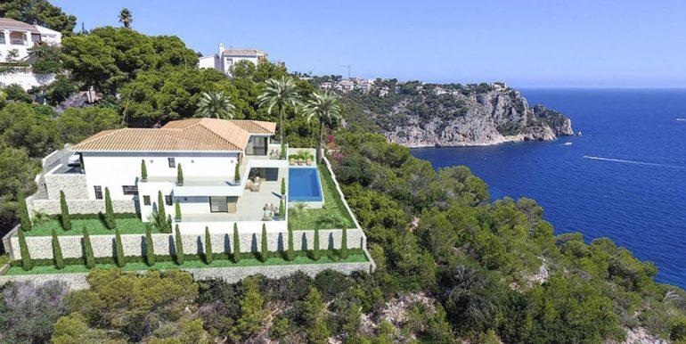 Waterfront luxury villa in Jávea Granadella - Sea-views - ID: 5500693