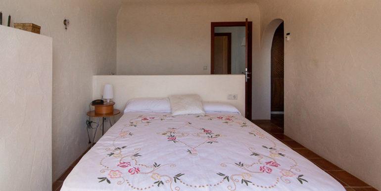 Außergewöhnliche Luxusvilla im Ibiza-Style in Moraira El Portet - Schlafzimmer - ID: 5500687 - Architekt Joaquín Lloret