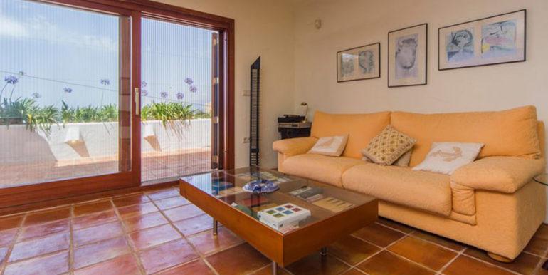 Außergewöhnliche Luxusvilla im Ibiza-Style in Moraira El Portet - Billiardraum und Bar - ID: 5500687 - Architekt Joaquín Lloret