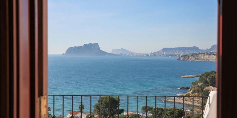 Außergewöhnliche Luxusvilla im Ibiza-Style in Moraira El Portet - Meerblick - ID: 5500687 - Architekt Joaquín Lloret
