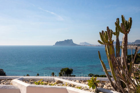 Exceptional ibiza style luxury villa in Moraira El Portet - Sea views - ID: 5500687 - Architect Joaquín Lloret