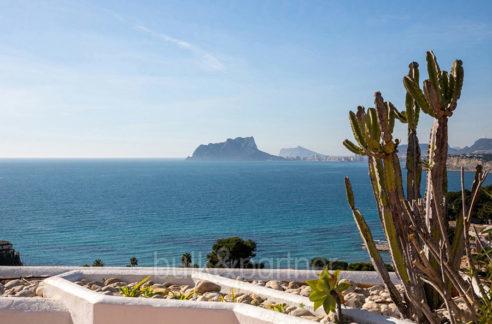 Exceptional ibiza style luxury villa in Moraira El Portet - Sea views - ID: 5500687 - Architect Joaquín Lloret