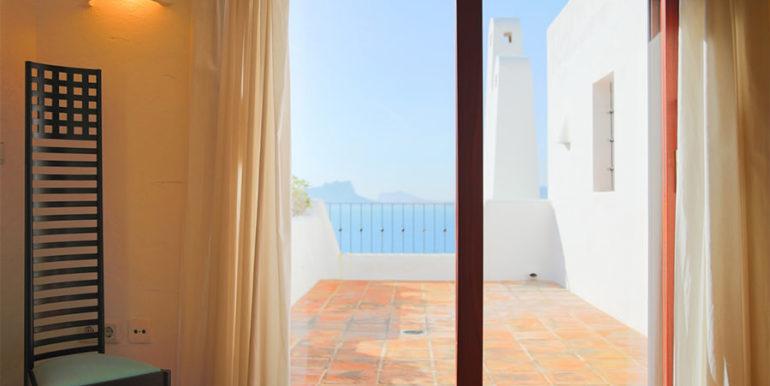 Außergewöhnliche Luxusvilla im Ibiza-Style in Moraira El Portet - Terrasse und Meerblick - ID: 5500687 - Architekt Joaquín Lloret