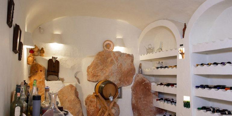 Außergewöhnliche Luxusvilla im Ibiza-Style in Moraira El Portet - Weinkeller - ID: 5500687 - Architekt Joaquín Lloret