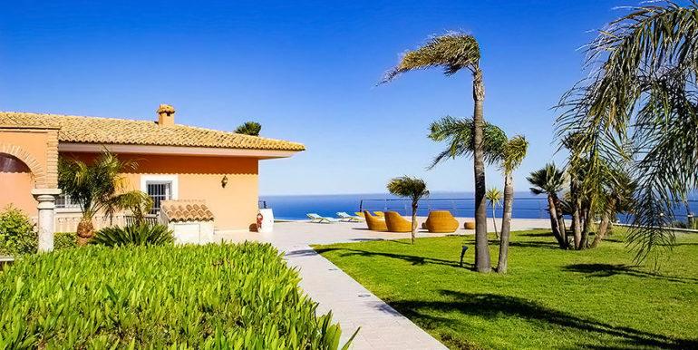 Luxusvilla in bester Lage mit atemberaubendem Meerblick in Moraira Coma de los Frailes - Garten - ID: 5500661