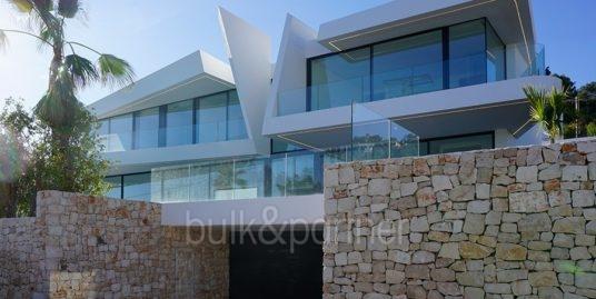 Villa de lujo con hermosas vistas al mar en Moraira Benimeit