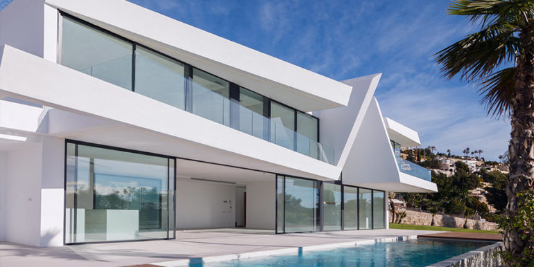Luxury villa with beautiful sea views in Moraira Benimeit - Infinity pool - ID: 5500671 - Architect Ramón Gandia Brull (RGB Arquitectos)