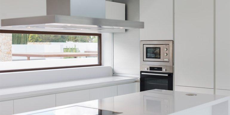 Villa de lujo de diseño moderno en Moraira Moravit - Detalles de la cocina - ID: 5500684 - Arquitecto Ramón Esteve