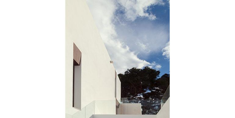 Villa de lujo de diseño moderno en Moraira Moravit - Sótano del patio - ID: 5500684 - Arquitecto Ramón Esteve