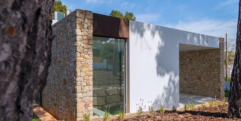 Villa de lujo de diseño moderno en Moraira Moravit - Vista lateral - ID: 5500684 - Arquitecto Ramón Esteve