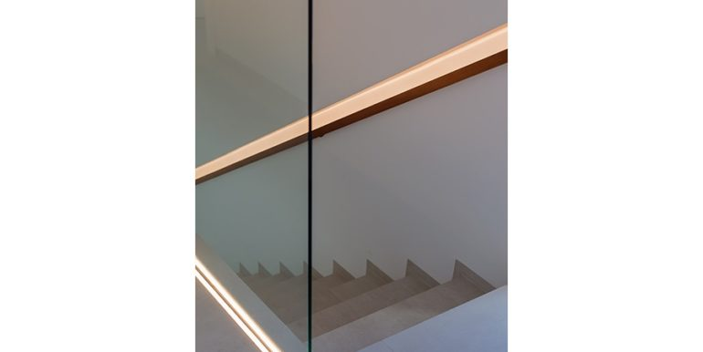 Villa de lujo de diseño moderno en Moraira Moravit - Escalera - ID: 5500684 - Arquitecto Ramón Esteve