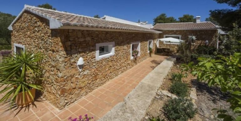 Exclusive Finca property with privacy in Jávea Cuesta San Antonio/La Plana - Vista trasera - ID: 5500679