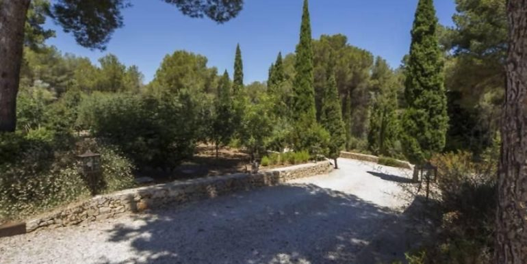 Exclusive Finca property with privacy in Jávea Cuesta San Antonio/La Plana - Camino de entrada - ID: 5500679
