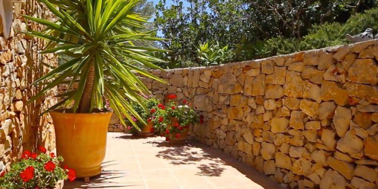 Exclusive Finca property with privacy in Jávea Cuesta San Antonio/La Plana - Natural stone wall - ID: 5500679