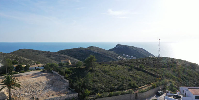 Modern luxury villa with fantastic sea views in Moraira El Portet - Plot with amazing sea views - ID: 5500696