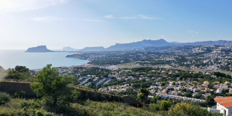 Modern luxury villa with fantastic sea views in Moraira El Portet - Plot with incredible sea views - ID: 5500696