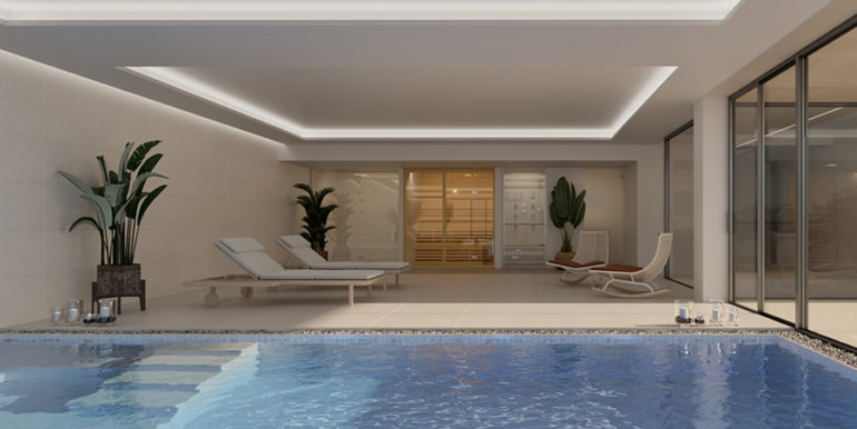 Modern luxury villa with fantastic sea views in Moraira El Portet - Spa with indoor pool and sauna - ID: 5500696