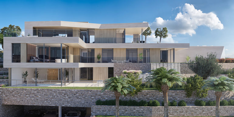 Modern luxury villa with fantastic sea views in Moraira El Portet - Villa total - ID: 5500696