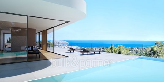 Luxury villa with incredible sea views in Moraira Benimeit