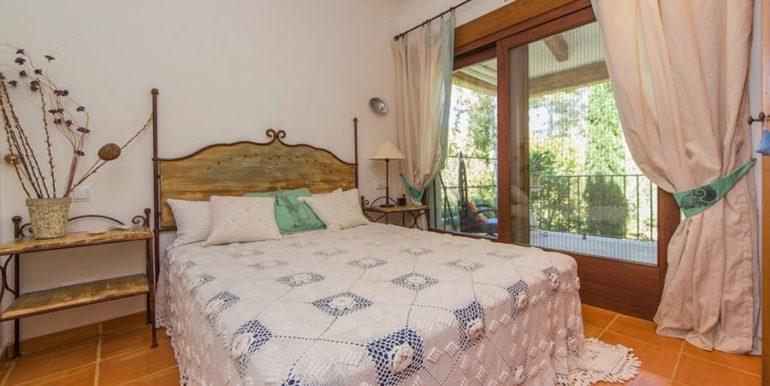 Exclusive Finca property with privacy in Jávea Cuesta San Antonio/La Plana - Bedroom in guest house - ID: 5500679