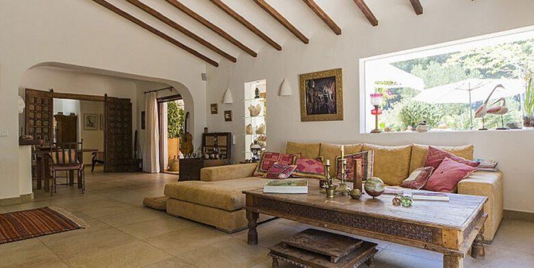Exclusive Finca property with privacy in Jávea Cuesta San Antonio/La Plana - Living area - ID: 5500679
