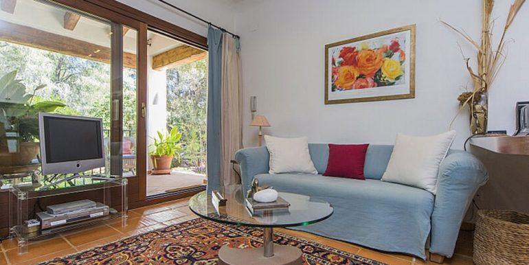 Exclusive Finca property with privacy in Jávea Cuesta San Antonio/La Plana - Living area in guest house - ID: 5500679