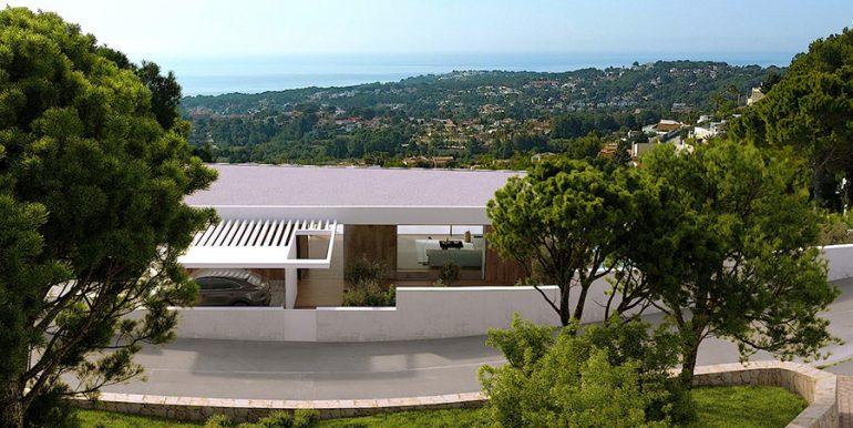 Luxury villa with incredible sea views in Moraira Benimeit -Sea views - ID: 5500697 - Architect CÍRCULOAZUL