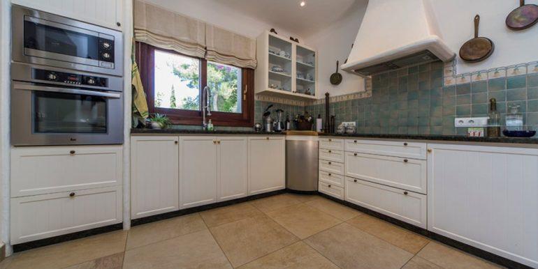 Exclusive Finca property with privacy in Jávea Cuesta San Antonio/La Plana - Kitchen - ID: 5500679