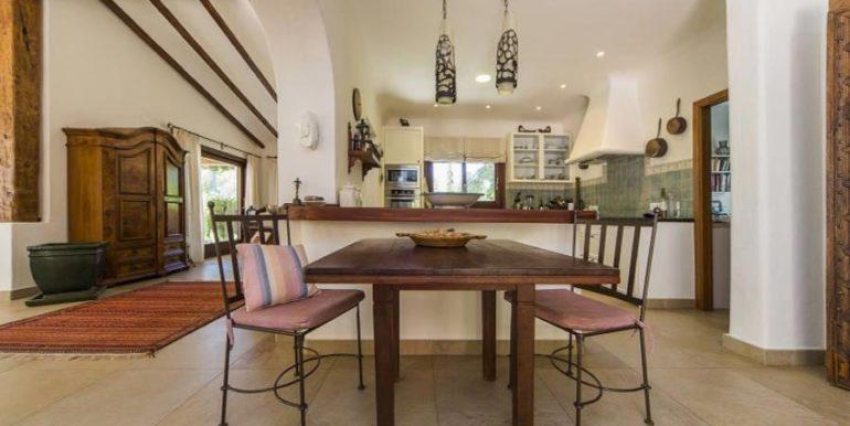 Exclusive Finca property with privacy in Jávea Cuesta San Antonio/La Plana - Kitchen and dining place - ID: 5500679