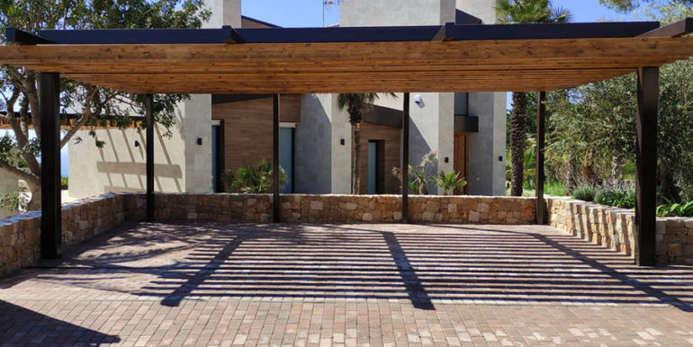 Villa de lujo de nueva construcción en Jávea Balcón al Mar - Carport - ID: 5500698
