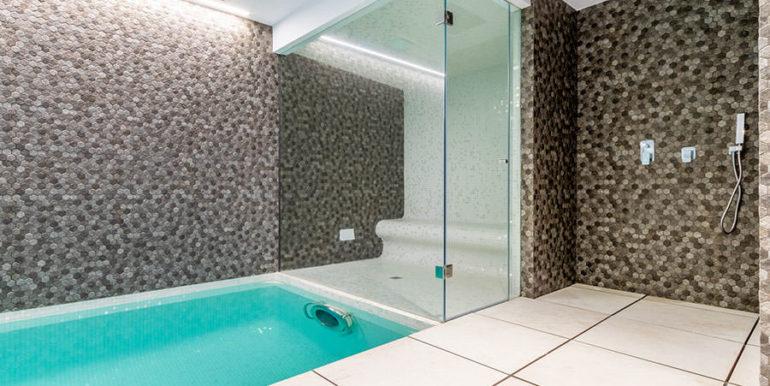 Villa de lujo de nueva construcción en Jávea Balcón al Mar - Piscina cubierta, sauna de vapor y ducha - ID: 5500698