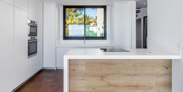 Villa de lujo de nueva construcción en Jávea Balcón al Mar - Cocina de diseño abierto - ID: 5500698