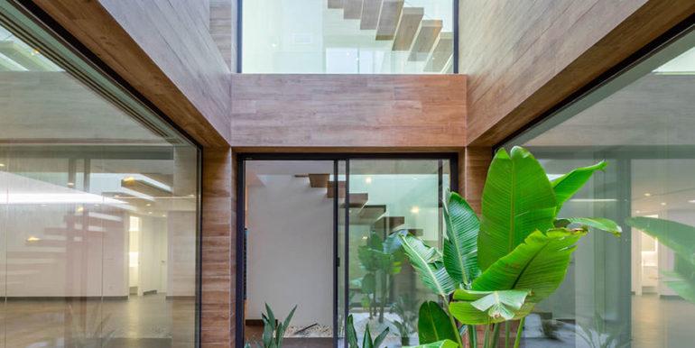 Villa de lujo de nueva construcción en Jávea Balcón al Mar - Patio - ID: 5500698