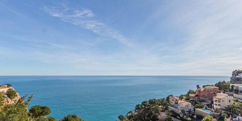 Villa de lujo de nueva construcción en Jávea Balcón al Mar - Perfecta vista al mar - ID: 5500698