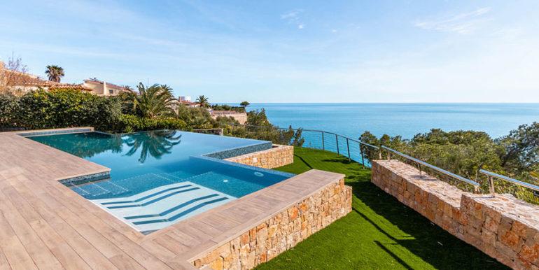 Villa de lujo de nueva construcción en Jávea Balcón al Mar - Piscina y vista al mar- ID: 5500698